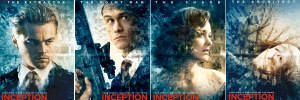 Inception character poster slice